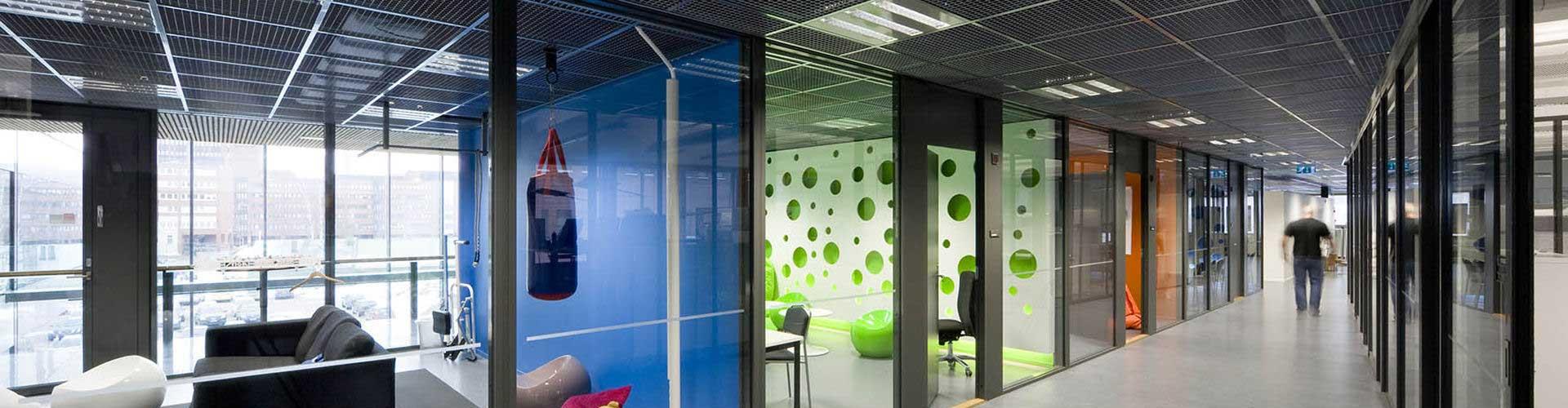 Open grid ceiling tiles