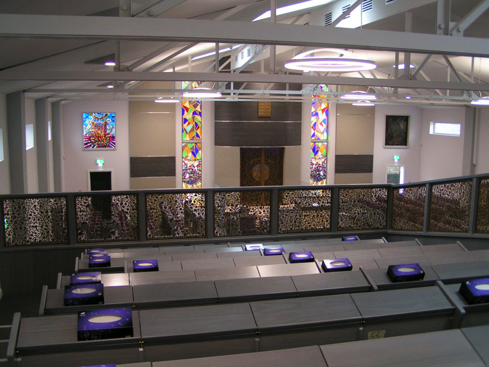 Stenecourt Synagogue Salford Gridpart Interiors
